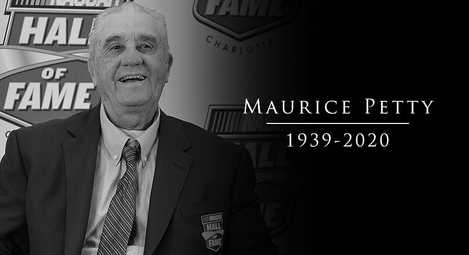 Maurice Petty, NASCAR Hall of Fame engine builder, dies