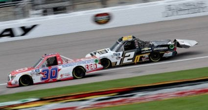 Brennan Poole drives No. 30 Toyota Tundra to 12th-place finish at Kansas Speedway