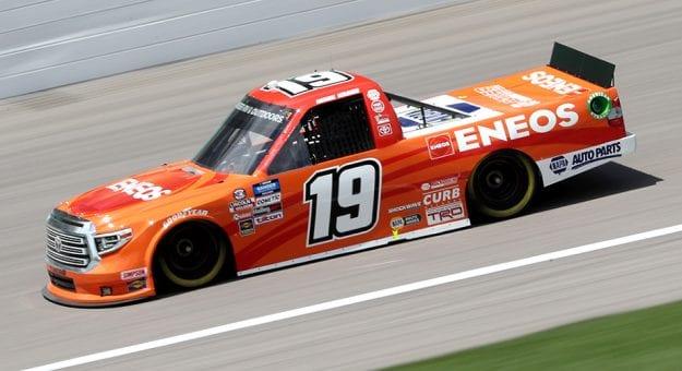 Derek Kraus No. 19 truck