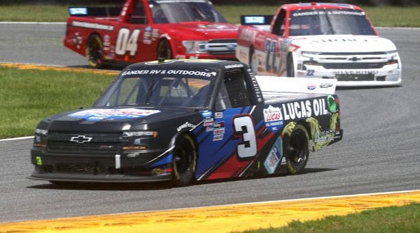 Austin Wayne Self Drives No 22 Chevrolet Silverado To 11th Place Finish At Daytona International Speedway Road Course.jpg