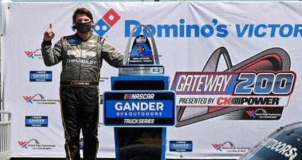 Sheldon Creed takes over late to win Gander Trucks race at World Wide Technology Raceway