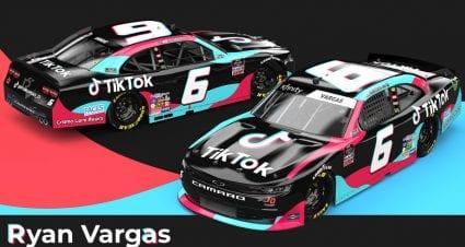 TikTok breaks into NASCAR, partners with Vargas, JD Motorsports for remainder of 2020 season