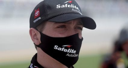 Eckes' playoff run ends in last-lap crash at Talladega: 'Just came up short'