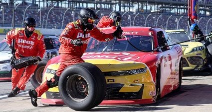 JRM No. 1 Chevrolet disqualified after post-race inspection at Talladega