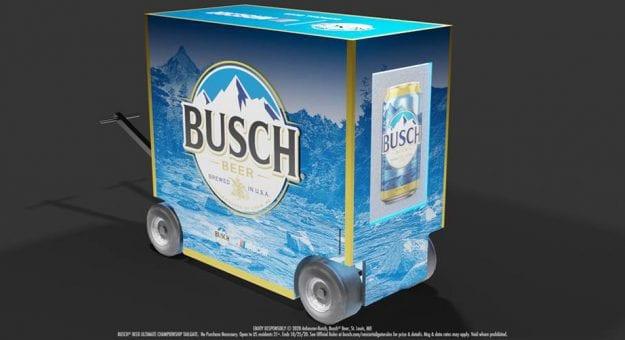 2020oct21 Busch Tailgate Cart