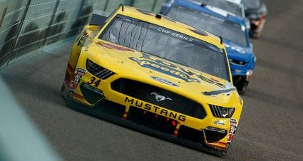 Clayton Hughes to join Front Row as McDowell's spotter, parting ways with Truex