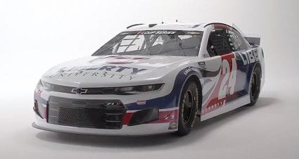 Hendrick Motorsports, Byron reveal Liberty No. 24 paint scheme for 2021