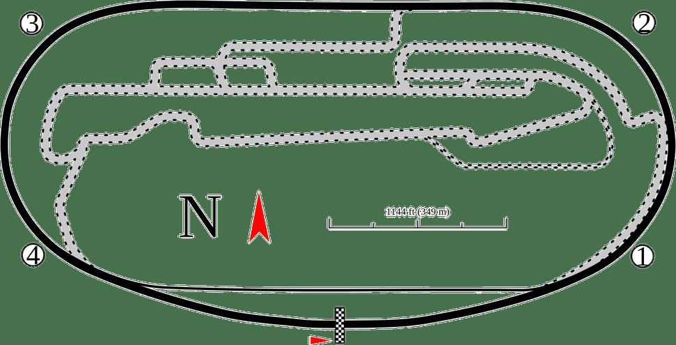 Auto Club Speedway Layout