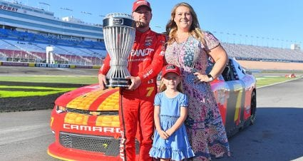 Justin Allgaier, wife Ashley expecting 'Tiniest Gator' in 2021