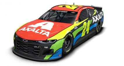 New-look Axalta scheme for William Byron, No. 24 Chevrolet