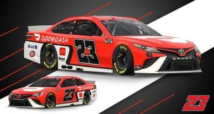 DoorDash, 23XI Racing reveal Bubba Wallace scheme