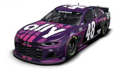 New-look Ally scheme for Alex Bowman, No. 48 Chevrolet