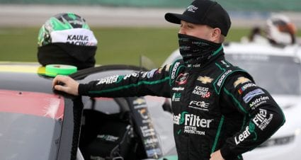 Pursuing first Xfinity title, for Justin Haley 'there's no letting up'
