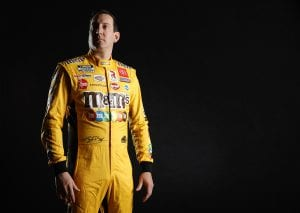 CHARLOTTE, NORTH CAROLINA - JANUARY 19: NASCAR driver Kyle Busch poses for a photo during the 2021 NASCAR Production Days at FOX Sports Studios on January 19, 2021 in Charlotte, North Carolina. (Photo by Jared C. Tilton/Getty Images) | Getty Images