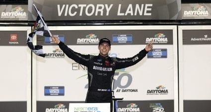 Ben Rhodes roars to overtime victory in Trucks' season opener at Daytona