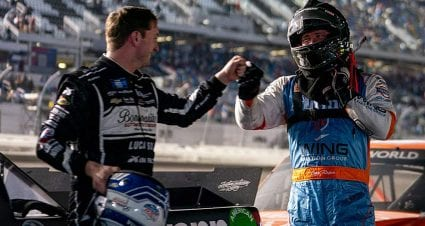 Anderson repeats as Daytona runner-up, shares career day with Roper in Truck Series opener