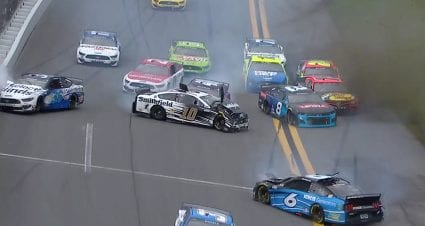 Multi-car crash snares Daytona 500 contenders early in Stage 1