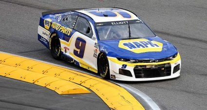 Late-race spin snaps Chase Elliott's road-course win streak at four
