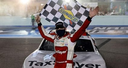 Myatt Snider snags first Xfinity Series win in double overtime at Miami
