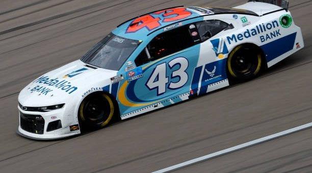 Erik Jones Drives No 43 Chevrolet Camaro To 10th Place Finish At Las Vegas Motor Speedway.jpg