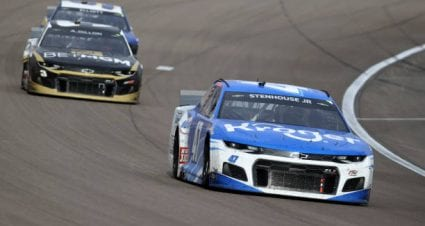 Ricky Stenhouse Jr drives No. 47 Chevrolet Camaro to 11th-place finish at Las Vegas Motor Speedway