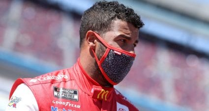 Bubba Wallace reacts to first time in Next Gen car at Richmond test