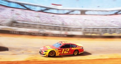 Blaney, Bowman fastest in practice sessions on Bristol dirt