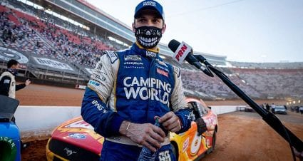 Daniel Suarez digs Bristol's dirt, gives Trackhouse its first top-five finish