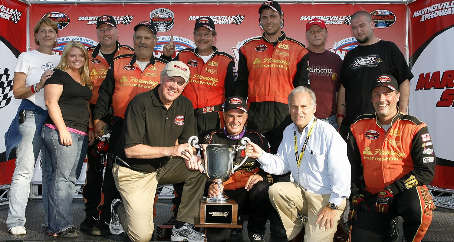 September 27 2009, NASCAR Whelen Modified/Whelen Southern Modified race at Martinsville Speedway.(Tom Whitmore/Getty Images) | Getty Images