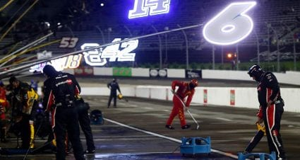 Rain pushes remainder of Cup Series race at Martinsville to Sunday