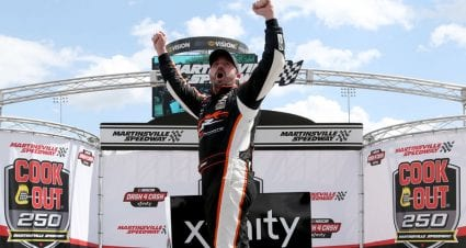 Josh Berry lands first NASCAR national series win at Martinsville