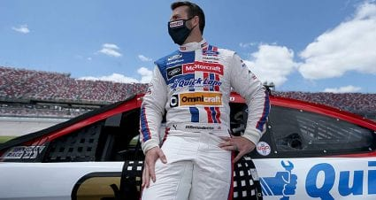 DiBenedetto: 'Our day will definitely come' after late charge, top-five effort at Talladega