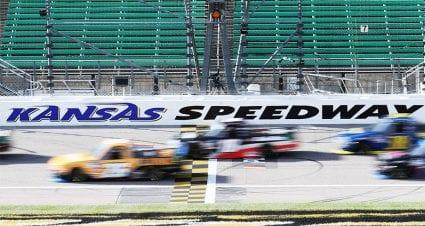 Kansas readies for Camping World Truck Series night race
