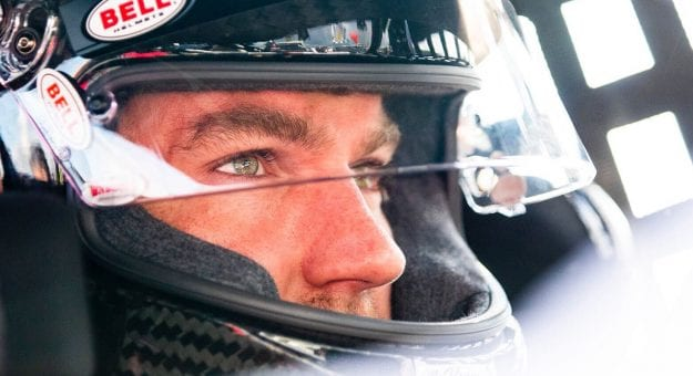 Jon McKennedy, driver of the #7 Ultra Wheel Chevrolet, during practice before the NAPA Auto Parts Spring Sizzler for the NASCAR Whelen Modified Tour at Stafford Motor Speedway on April 30, 2021 in Stafford Springs, Connecticut. (Adam Glanzman/NASCAR)