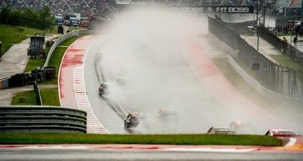 NASCAR to use wet COTA takeaways for future rain races