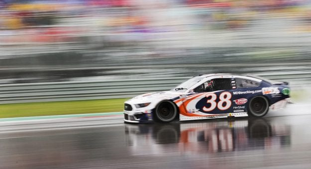 Anthony Alfredo No. 38 Front Row Motorsports