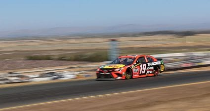 Penalty report: Joe Gibbs Racing No. 19 team fined for lug-nut violation at Sonoma