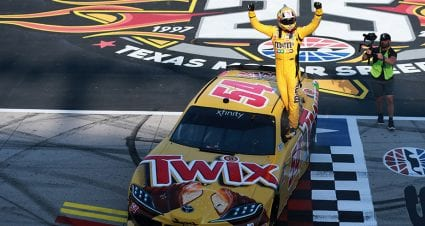 Kyle Busch holds on in overtime at Texas, posts 99th Xfinity Series victory