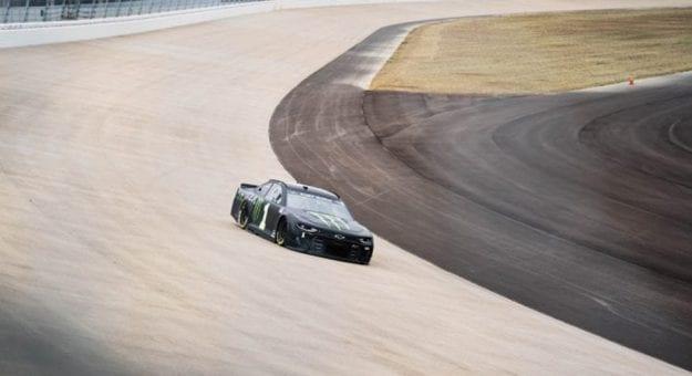 Kurt Busch Nashville Superspeedway test