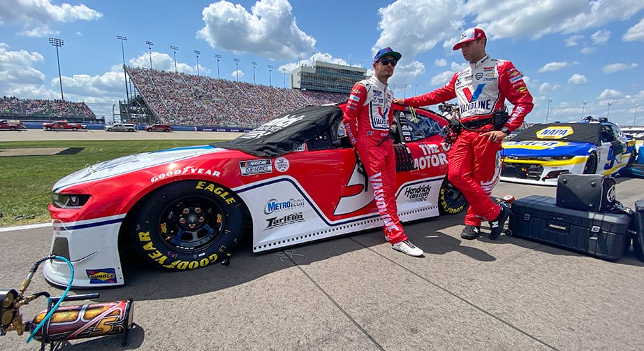 Red-hot car and driver: Larson's generational talent leads to