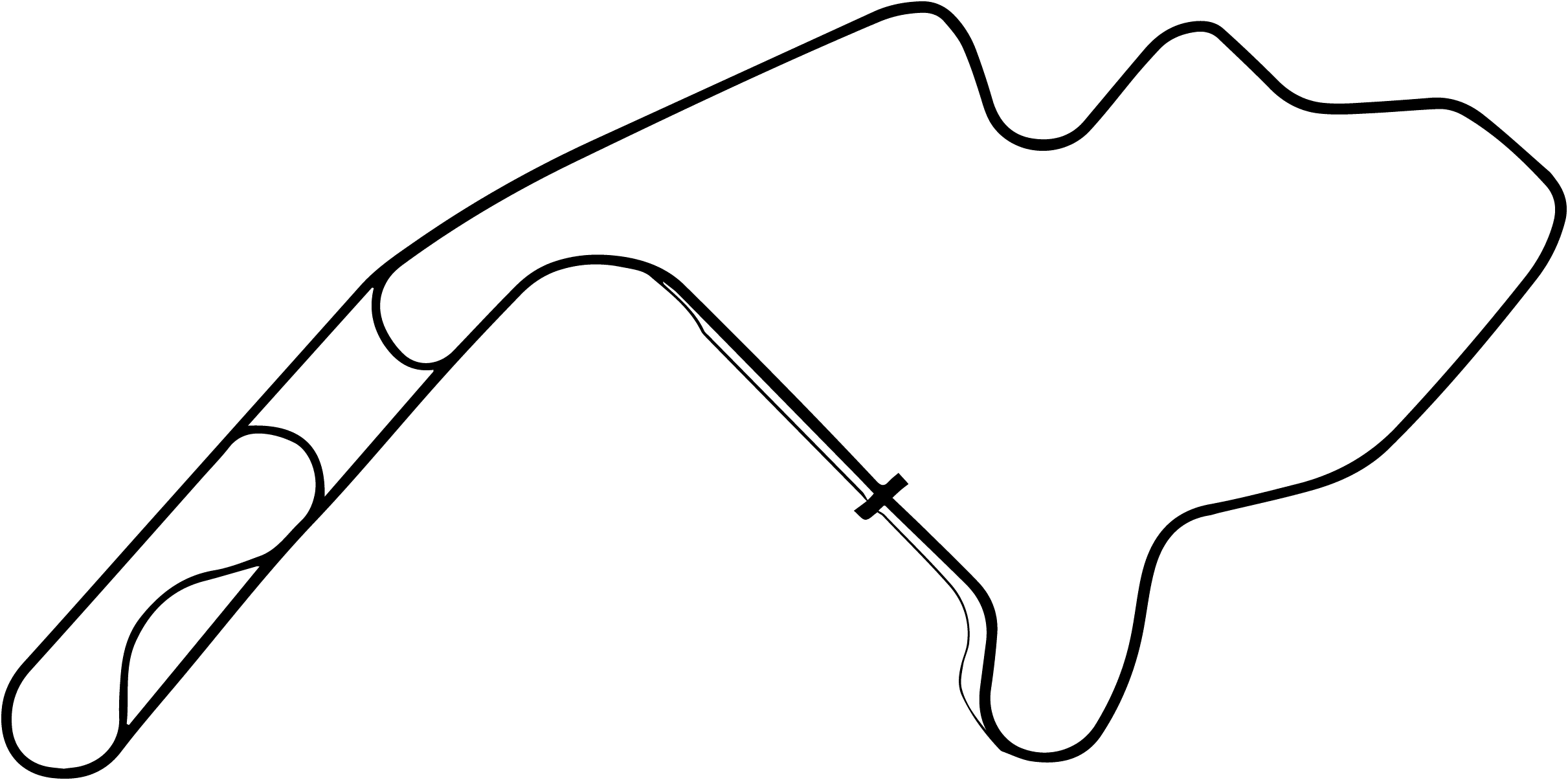 Mid-Ohio Sports Car Course Layout