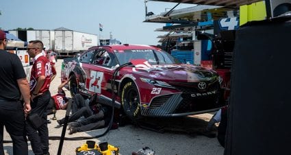 Kyle Busch, Bubba Wallace among drivers to start at rear for Road America