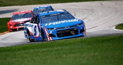 'Like nothing happened:' Larson, Bowman all square after Road America run-in
