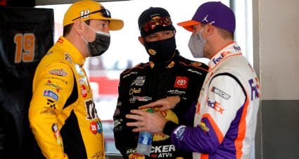 Analysis: Joe Gibbs Racing's wicked good 1-2 punches at New Hampshire