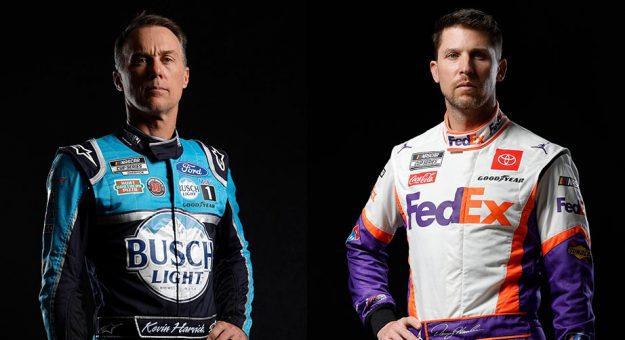 Debate: Who will win first, Denny Hamlin or Kevin Harvick?