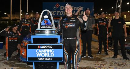 Sheldon Creed goes big at Gateway, notches playoff-opening Truck Series win