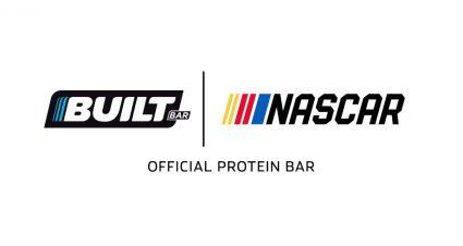 Built Bar named Official Protein Bar of NASCAR
