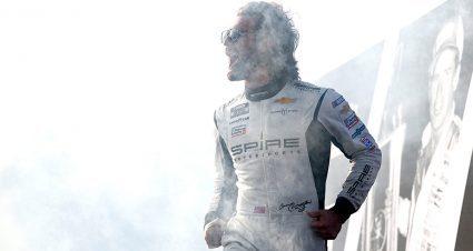 Corey LaJoie's Darlington performance draws attention of NASCAR Hall of Famer