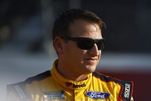 DARLINGTON, SOUTH CAROLINA - SEPTEMBER 05: Michael McDowell, driver of the #34 Love's Travel Stops Ford, waits on the grid prior to the NASCAR Cup Series Cook Out Southern 500 at Darlington Raceway on September 05, 2021 in Darlington, South Carolina. (Photo by Jared C. Tilton/Getty Images) | Getty Images