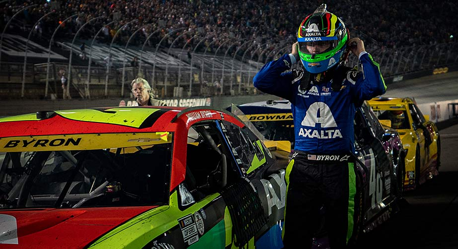 William Byron finds relief in Bristol rally, advances in Cup Playoffs; Almirola, Reddick fade out - NASCAR